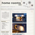 home rooms 様 / BLOGデザイン