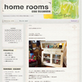 home rooms 様 / TOPICS用BLOGデザイン